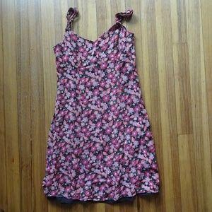 ANN TAYLOR Loft Floral Swing Dress 4P/SP